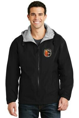 Soccer Jacket - Left Chest Embroidery
