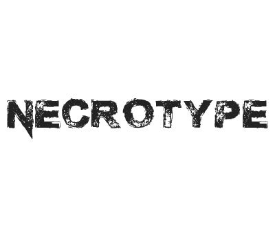 Font License for Necrotype
