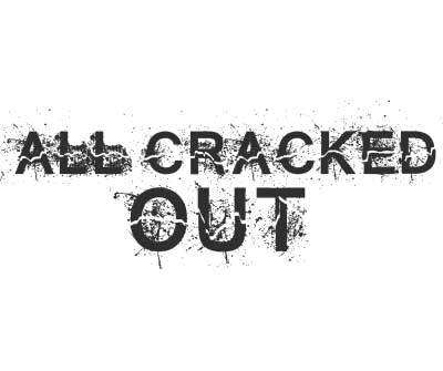 Font License for All Cracked Out