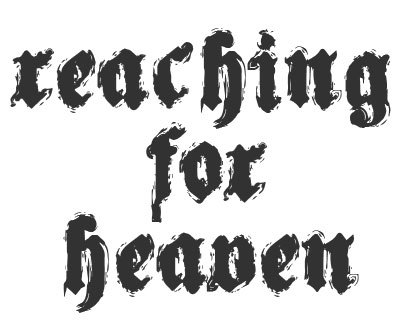 Font License for Reaching for Heaven