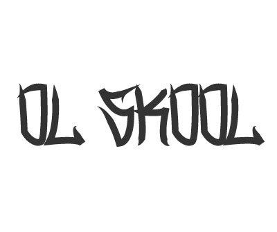 Font License for Ol Skool