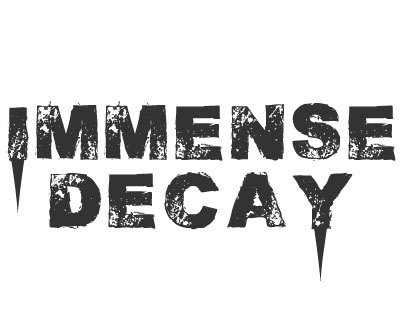 Font License for Immense Decay