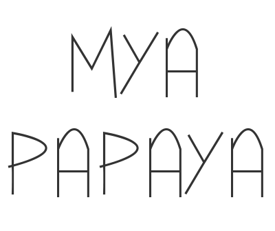 Font License for Mya Papaya
