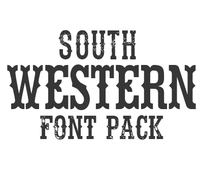South Western Font Pack