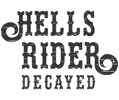 Font License for Hell's Rider Decay