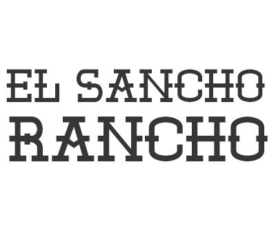 Font License for El Sancho Rancho
