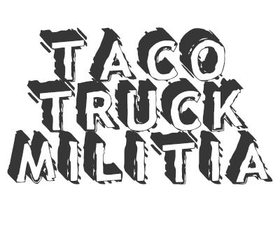 Font License for Taco Truck Militia