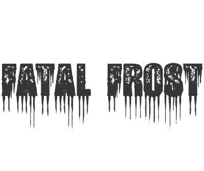 Font License for Fatal Frost