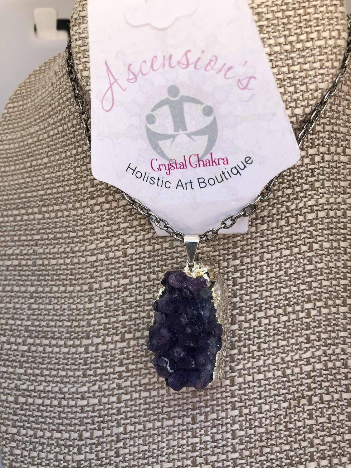 Amethyst Crystal Necklace - The Psychic Powerhouse