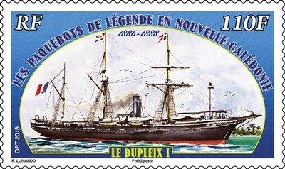 Новая Каледония. Легендарные пароходы в Новой Каледонии.