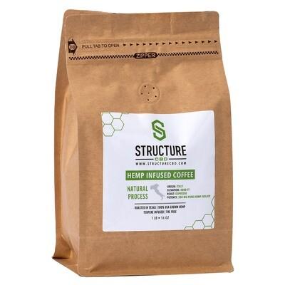 Structure Espresso Coffee 1lb 300mg
