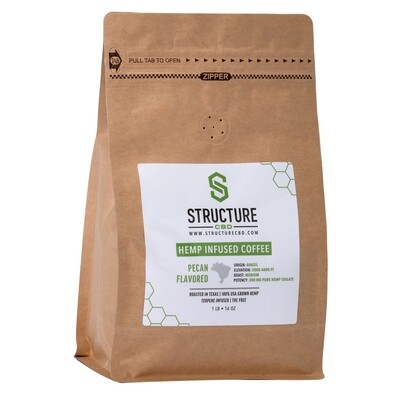 Structure Pecan Infused Coffee 1lb 300mg