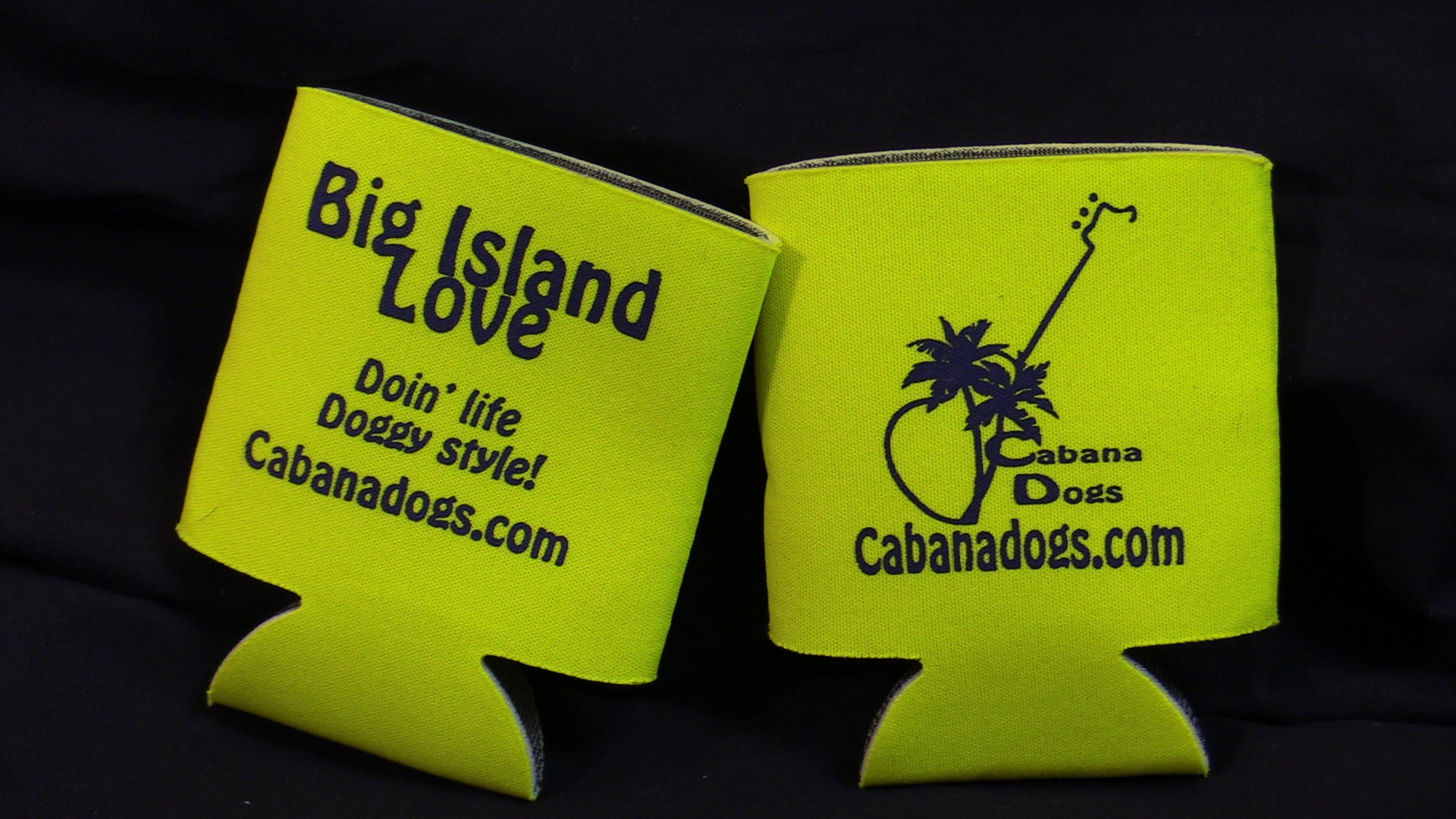 Cabana Dogs Doin' Life Doggy Style Coozie