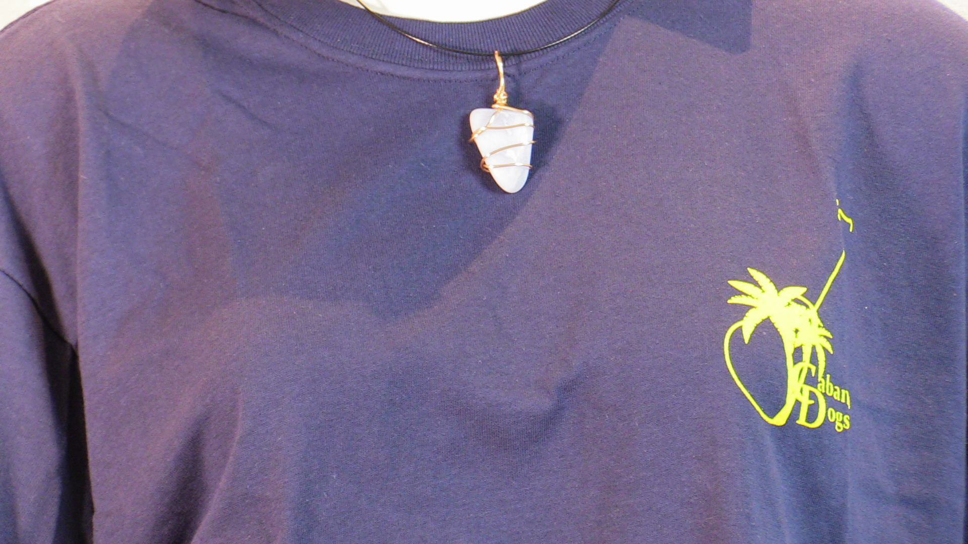 Cabana Dogs Hand  Made Custom Necklace