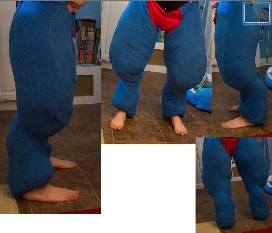 Digitigrade Leg Sleeves