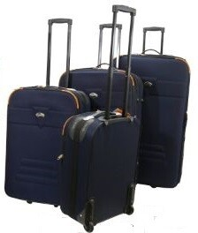 "4 PC Luggage set size 32"" 29"" 24"" 20"""