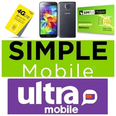 Simple Mobile $25 Plan is Perfect/Plan de $25 es Perfecto