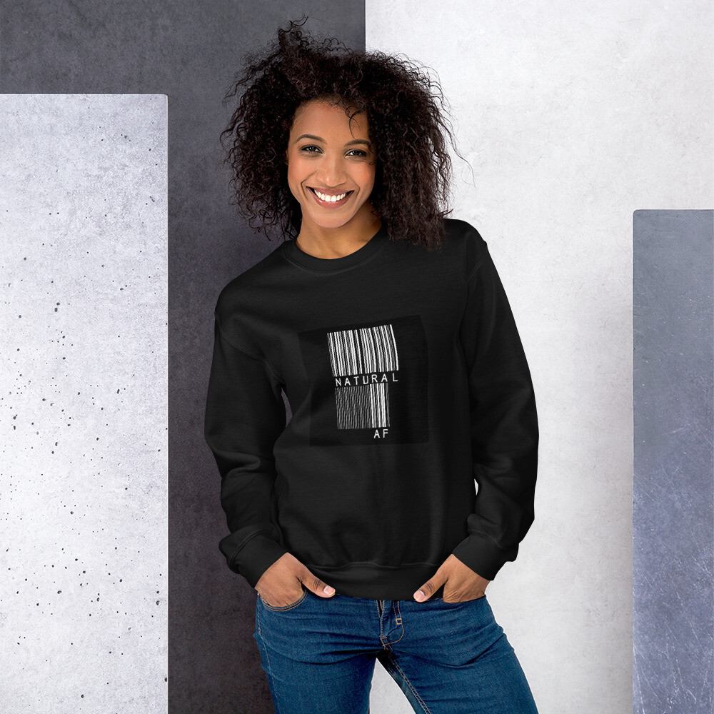 Unisex Sweatshirt-bar code