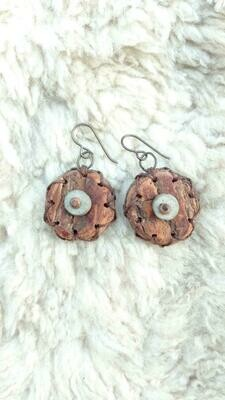 Willow Circle Earrings