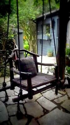 BUILD A SWING/RUSTIC CHAIR