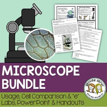 Microscope Introduction - PowerPoint and Handouts
