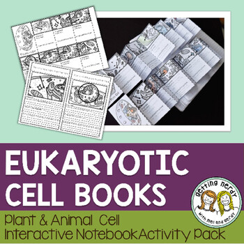 Science Interactive Notebook - Plant and Animal Cell Comparison Booklet