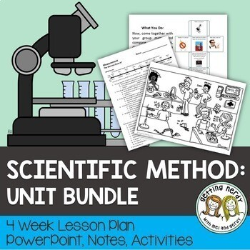 Scientific Method & Nature of Science - PowerPoint & Handouts Unit