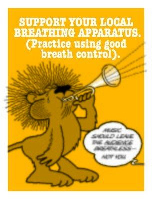 Use Good Breath Control