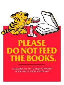 Please Do Not Feed the Books