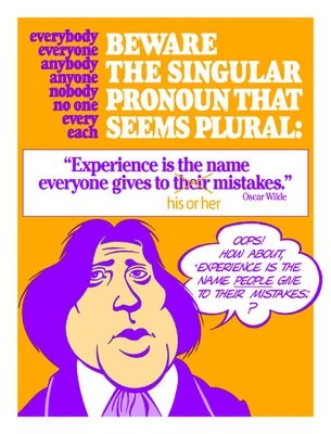 Singular Pronoun That Seems Plural