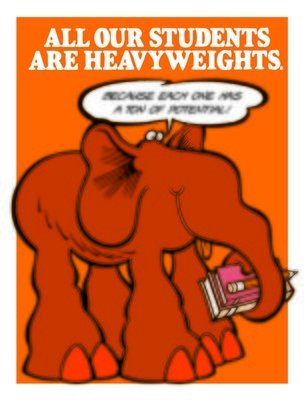 All Our Students Are Heavyweights