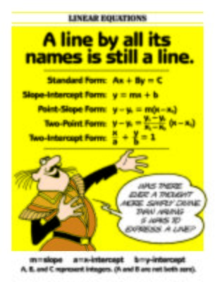 Five forms of linear equations