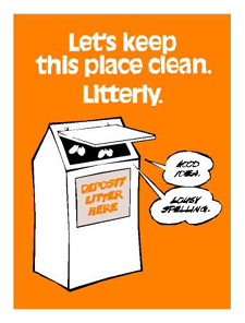 Let's Keep This Place Clean