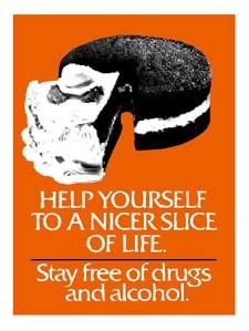 Stay free of drugs and alcohol
