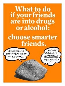 What to do if your friends are into drugs