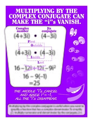 Use of the Complex Conjugate