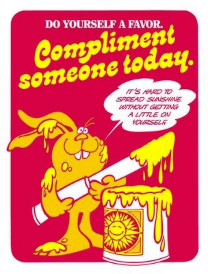 Compliment Someone Today