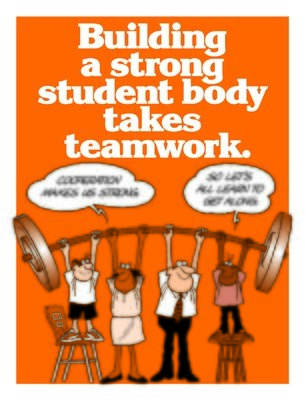 Building a Strong Student Body Takes Teamwork