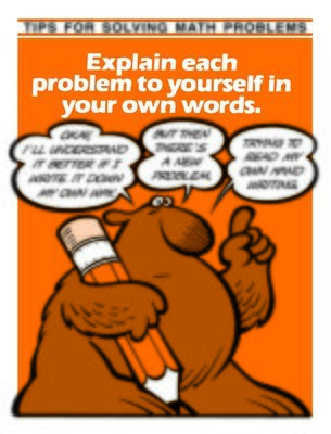 Explain problem to yourself in your own words