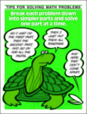 Break problem down into simpler parts