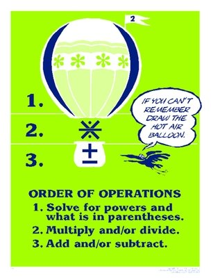 Remembering the Order of Operations