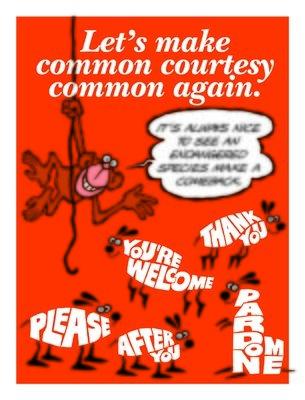 Let's Make Common Courtesy Common