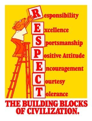 The building blocks of civilization. RESPECT.