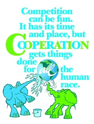 Cooperation Gets Things Done