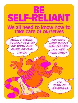 Be Self-Reliant