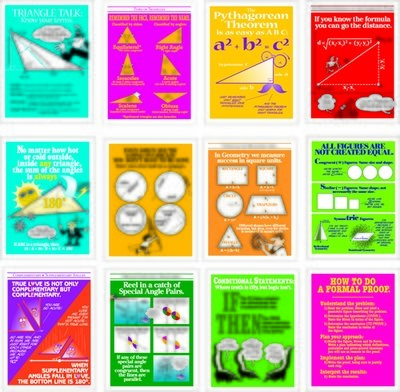 Geometry Posters Set (12)