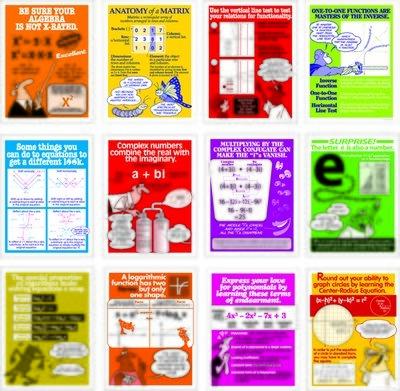 Advanced Algebra Poster Set (12)