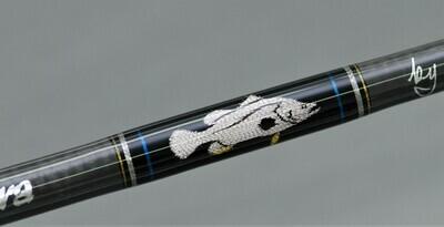 Salty Barra BCamo T-SiC Custom with Weave #7066