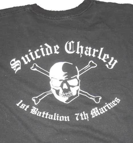 Suicide Charley Short Sleeve T-Shirt Large (Black)