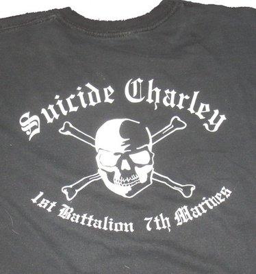 Suicide Charley Short Sleeve T-Shirt Medium (Black)